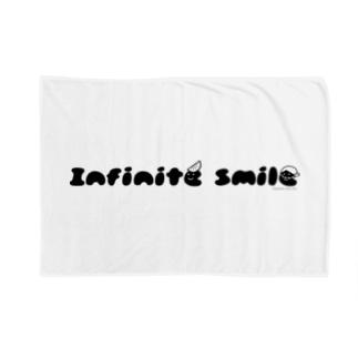 無限の笑顔(ほっかむり:黒) Blankets