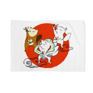 オタゲー妖狐 Blankets