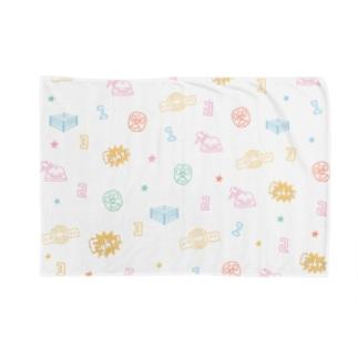 プロレスパターン(カラフル) Blankets