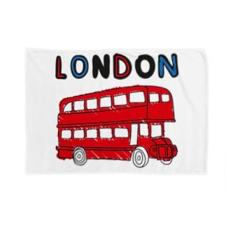 ロンドンバス Blankets