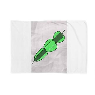 ピーマンの串刺し Blankets
