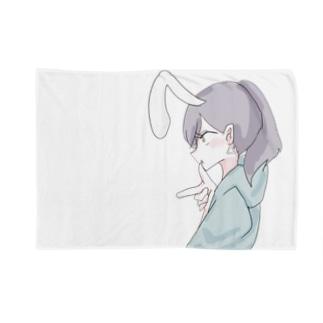 ラムネのラムちゃん clear Blankets