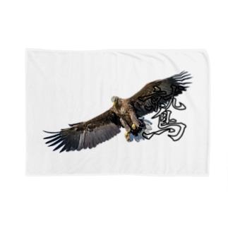 大空を羽ばたく鷲! Blankets