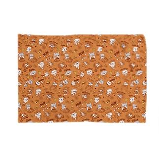 鼻ぺちゃわんさか オレンジ Blankets