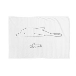 irusuの添い寝イルカ Blankets