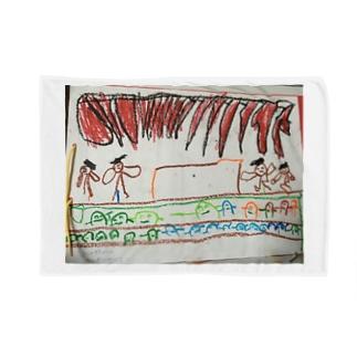 発表会(秀斗のお絵描き) Blanket