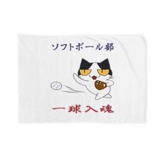ソフトボール Blankets