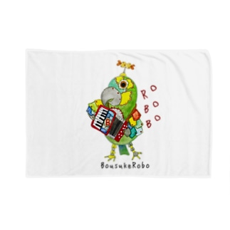 ROBOBO ボウシインコのボウ助  Blankets