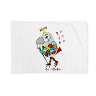 ROBOBO ヨウムのボルトロボ  Blankets