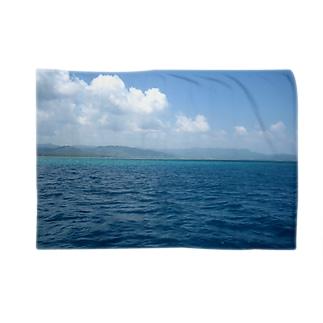 沖縄の海 ブランケット