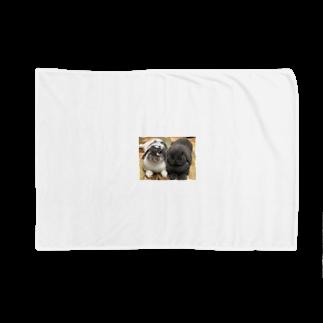 うさかふぇmimiSHOPのサスケとゴマ Blankets
