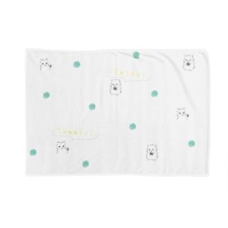ひまわりの種、ひまわりと言えば夏。夏を楽しむゆるはむ Blankets