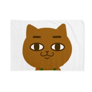 POGE's COFFEE SHOP Lineスタンプグッズ(無表情) Blankets