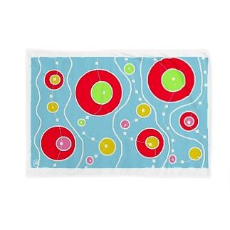 マジョの浮き輪 Blankets