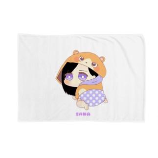サナ 着ぐるみ赤ちゃんキャラ Blankets
