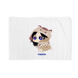 ツウィ 着ぐるみ赤ちゃんキャラ Blankets
