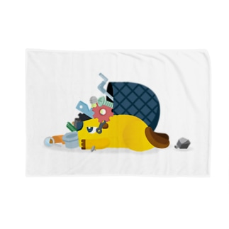 Scrapbox Beaver(エラー時) Blankets