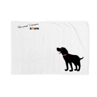 【nina&bart】atomロゴ Blankets