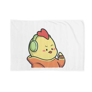 にわとりさん Blankets