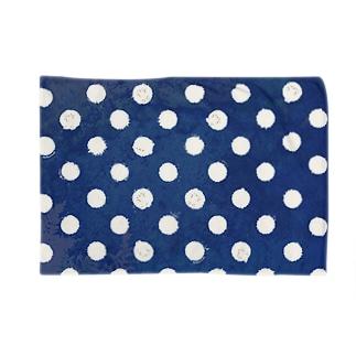 かんザラシ(blue dot) Blankets