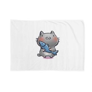 猫と魚 Blankets
