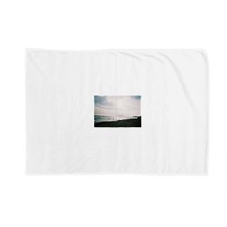 冬の七里ヶ浜 Blankets