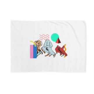 SCM迷子 Blankets