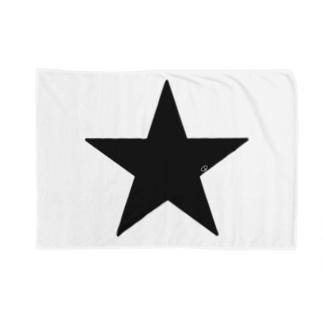 Black Star Blankets