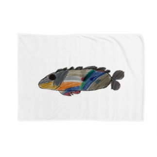 りしゆな:お魚 by はせりょう Blankets