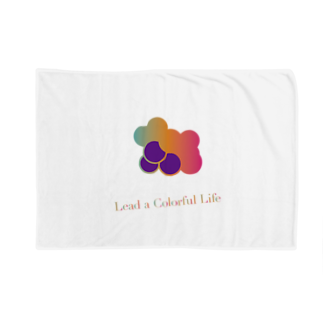 DEEPDRILLEDWELL@井戸の中のColorful Grapes ver2.0 Blankets