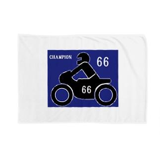 バイクレース 66 Blankets