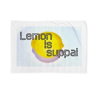 レモンisスッパイブランケット Blankets