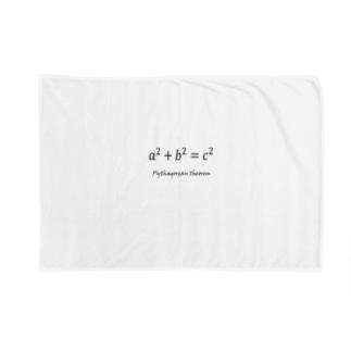 ピタゴラスの定理 Blankets