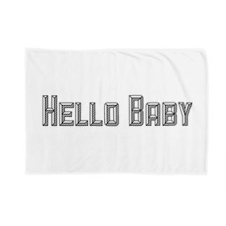 こんにちは赤ちゃん Blankets