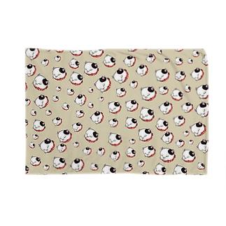 ブチワネコ(ベージュ) Blankets