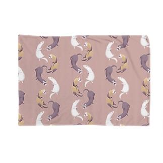 ferret(pink brown) ブランケット