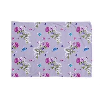 anemone(lavender) Blankets