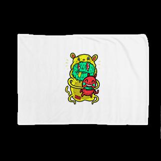 HUGオフォシャルショップのI Wanna Be Your Partner Blankets