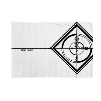 Time killerブランケット Blankets