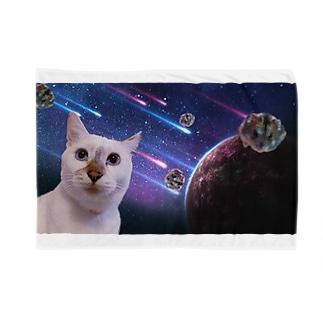 宇宙猫と宇宙ハムスター Blankets