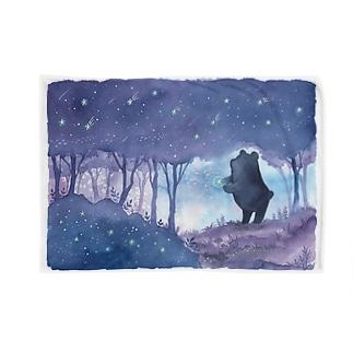 星降る森のくまさん ブランケット