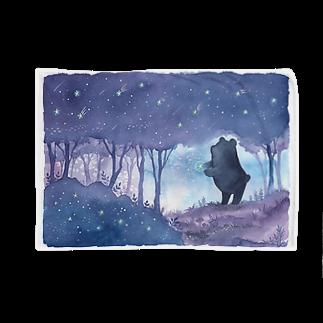 Rosemary*Teaの星降る森のくまさん Blankets