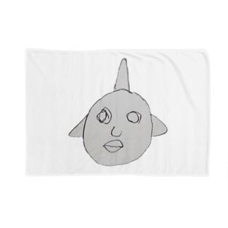 画伯ぐっず Blankets