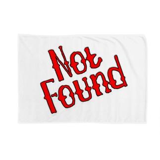 Not Found Blankets