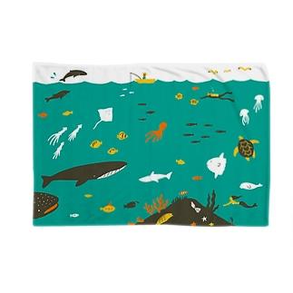 海 Blankets
