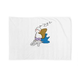 クウちゃんとねむねむ Blankets