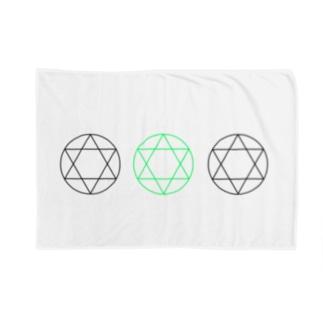六芒星 Blankets
