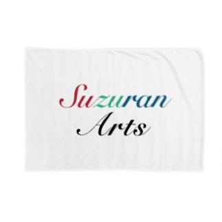 朱翠藍Arts ブランドロゴ Blankets