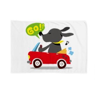黒ラブしんちゃん Blankets