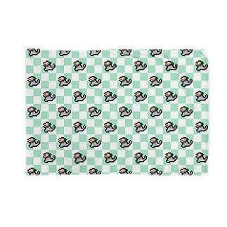 モッコメリアン-ドットパターン Blankets